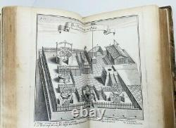 1697 Chine Journey Illustrated Voyage Antique Livre Rare First Edition Le Comte