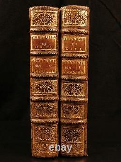 1739 1er Ed Pluche Astronomie Astrologie Cosmogonie Occulte Mythologie Égyptienne Païenne