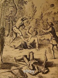 1754 Don Quichotte Espagnol Miguel Cervantes Chevalerie 6v Set De Saint-martin Art