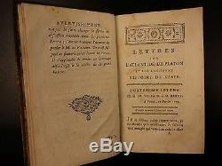 1779 1er Ed Cité Perdue Atlantis Avec Bailly Platon Astronomie Voltaire Carte De L'asie