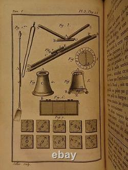 1786 Occult Physique Magic Lantern Tricks Electricity Conjuring Guyot Mirrors 3v