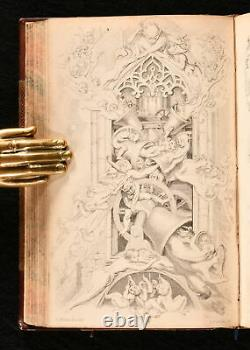 1843-5 2vol In1 A Christmas Carol And The Chimes Charles Dickens First Edition E