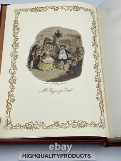 1843 Easton Press A Christmas Carol Dickens Limited Vintage Edition John Leech