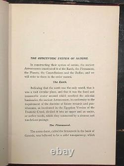 1895 Astral Worship J. H. Hill, 1er/1er Astrologie Symbolique, Occulte Rare