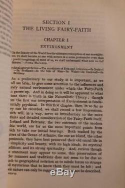 1911 Fée Foi En Celtique Pays Roi Arthur Merlin Stonehenge Magie Elfes