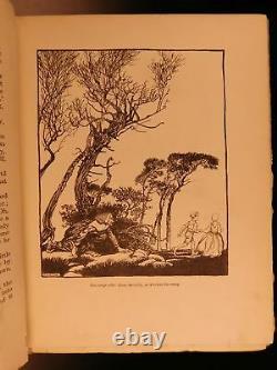 1917 1er Ed Little Brother - Sister Grimm Fairy Tales Arthur Rackham Illustrated