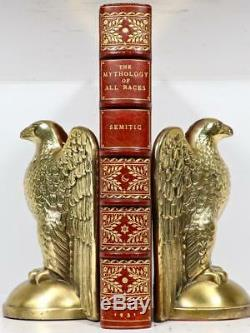 1931 Sémitique Mythologie Épique De Gilgamesh Babylon Sangorski & Sutcliffe Reliure