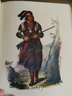 1933 The Indian Tribes Of North America Par Mckenney & Hall 3 Vols 122 Col Plts