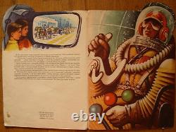1961 Rare Fly To Space Kubasta Russian Rocket Children Livre Pop-up Picture Story