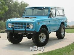 1970 Ford Bronco Première Édition Originale Sasquatch