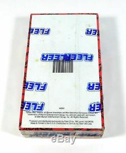 1994 Fleer Marvel Amazing Spider-man Box 1er Édition Sealed (36 Packs)