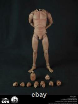 1/4 Coomodel Hd001 Corps Nu Humain Pour 18'' Figurine Jouets Chauds États-unis En Stock