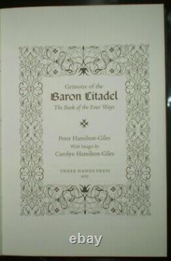 1 De 50, Deluxe Limited Ed, Grimoire Of The Baron Citadel, Occulte, Métaphysique