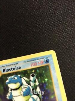 1er Édition Originale Shadowless De Base Blastoise Wotc 2/102 Psa Digne