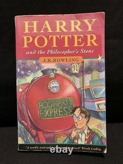 1ère Édition, 2e Imprimerie Royaume-uni Livre De Poche Harry Potter Et La Pierre Philosophale