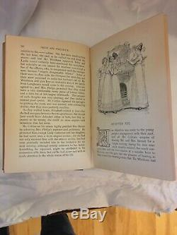 1ère Édition Pride & Prejudice, Jane Austen 1894 Hugh Thomson Peacock Édition