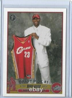 2003 2004 Topps Lebron James Rookie 1st Edition Card #221 Rare Rc