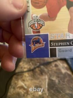 2009 Upper Deck Stephen Curry Rc Rookie #196 Invest 1ère Édition