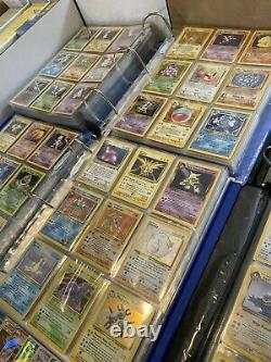 200 Cartes Originales Vintage Pokemon 1ère Édition Holo Rare