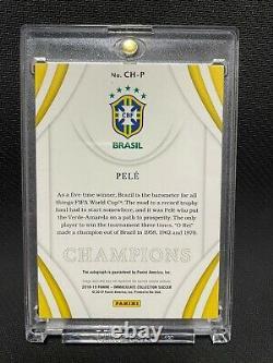 2018-19 Immaculé Soccer Champions Pele Auto #1/10 Brésil