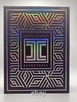2020-21 Panini Impeccable Lamelo Ball Blockchain Rookie Autograph Platinum 1/1
