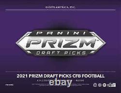2021 Panini Prizm Draft Picks Football Hobby Box Nouveau Et Scellé Livraison Gratuite