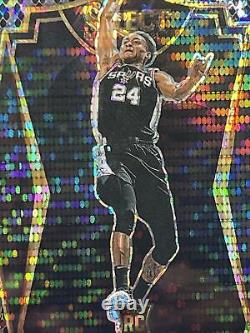 20-21 Panini Sélectionner Basketball Devin Vassell 1/1 Énorme Niveau Premier Snake Skin