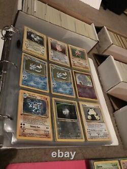 50 Cartes Lot Original Vintage 1999 Wotc Pokemon Cards! Holos, Rares, 1ère Édition
