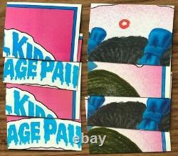87 Topps Garbage Pail Kids Original 7th Series 7 Ensemble Complet De Cartes Mint Gpk Os7