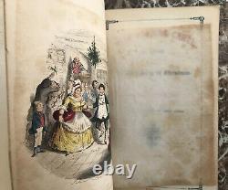 A Christmas Carol, Charles Dickens 1844, Première Forme V. Première Édition Chapman&hall