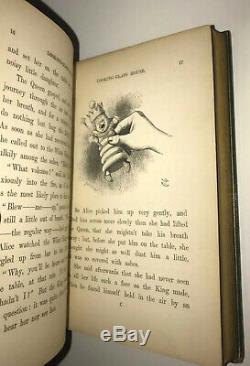 Alice Au Pays Des Merveilles, Psyché Par Le! (première Édition / Impression!) 1872 Wade
