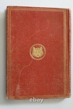 Alice's Adventures In Wonderland, Par Lewis Clark 1ère Édition Des États-unis, 1869