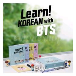 Apprendre! Korean Avec Bts Book Full Package + Avantages Première Édition