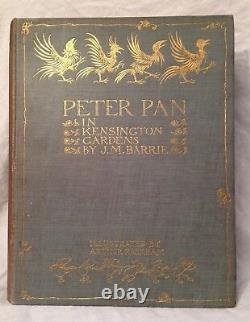 Arthur Rackham / J M Barrie Peter Pan Dans Kensington Gardens 1er 1912