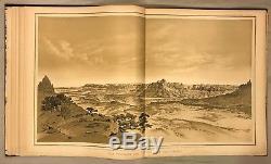Atlas Accompagnez L'histoire Tertiaire Du Grand Canyon, Clarence E. Dutton