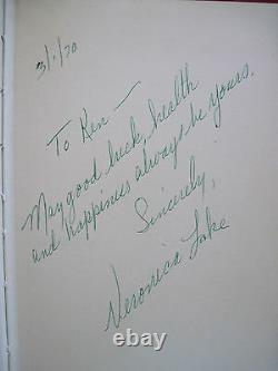 Autobiographie De Veronica Lac Signé Par Veronica Lake Avec Lettre Signée