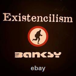 Banksy Livres Rares Existencilism Et Taper La Tête Contre Un Mur De Briques