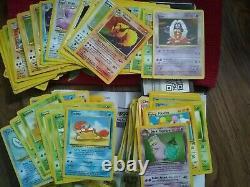 Base De Pokemon Originale Lot Set Jungle, Fossil, Holo, Edition, Shadowless 1st 20 Cartes