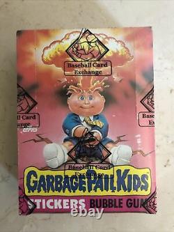 Bbce 1985 Garbage Pail Kids Original 1ère Série 48 Wax Packs Gpk Os1 Sealed Box