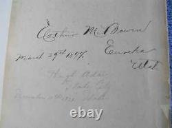 Black's Law Dictionary, Original 1891 First Edition Henry Campbell Black 1er