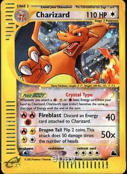 Carte Charizard Vintage Garantie Lot De Vieilles Cartes Pokémon Originales Wotc