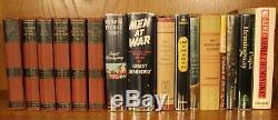 Complete 1er Ernest Hemingway Édition Collection Signé Adieu Aux Armes Rares