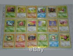 Complete First Edition Jungle Set 64/64 Collection Originale Carte Pokémon 1er Ed