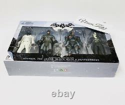 DC Collectibles Batman Arkham Origins Action Figure 4-pack Dmg Pkg