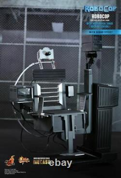 Dhl 1/6 Hot Toys Mms203d05 Robocop Avec Chaise Mécanique Station D'arrimage Figure