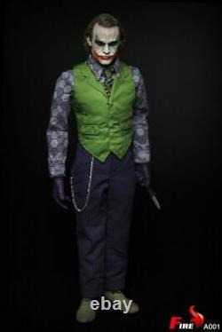 Dhl 1/6 Jouets De Feu A001 Batman The Dark Knigh Joker Violet Coat Ver Action Figure