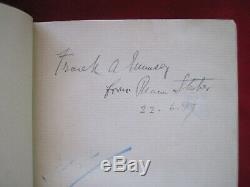 Dracula Par Bram Stoker Signés Pour Frank A. Munsey Première Édition -1897