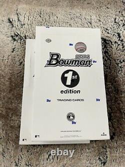 En Main 2021 Bowman 1ère Édition Sealed Box (24 Packs) Same Day Shipping