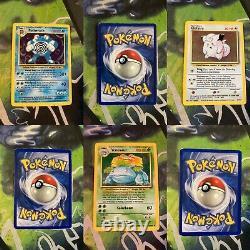 Ensemble Complet De Cartes À Base De Menthe Nm Pokemon 102/102 Charizard Original