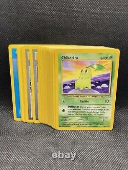 Ensemble Complet Pokémon Neo Genesis Common/uc Cartes Nm-mint Wotc Vintage Original